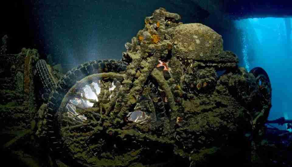naufragio thistlegorn mar rojo